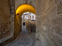 View of Alhama de Granada, Spain Stock Photography
