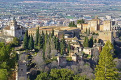 View from the Alhambra Stock Photography