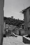 View of Alhambra fortress Royalty Free Stock Images