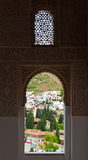 The view from Alhambra palace Royalty Free Stock Photo