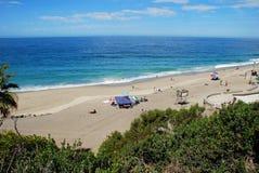 View of Aliso Beach, Laguna Beach, California Royalty Free Stock Images