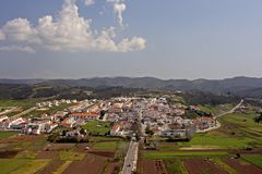 View on Aljezur. In Portugal Royalty Free Stock Images