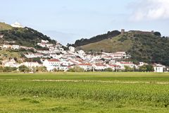 View on Aljezur in Portugal Stock Images