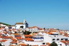 View of Aljustrel village, alentejo region Royalty Free Stock Photography