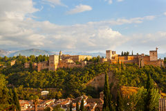 View of Alkhambr's fortress Royalty Free Stock Image