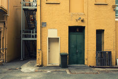 View in an alley Royalty Free Stock Photos