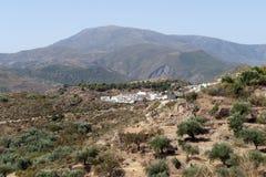 View of Almegijar village Royalty Free Stock Image