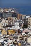 View of Almeria Stock Photo