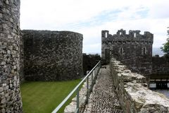 Castle Walls and ramparts Stock Photos