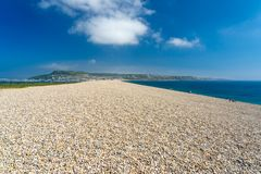 Chesil Beach Portland Dorset royalty free stock images