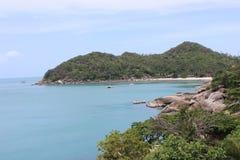 Koh Samui, Thailand. View along the coast of the island of Koh Samui, Thailand royalty free stock image