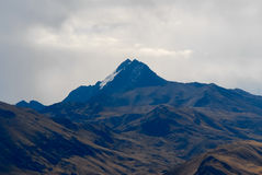 View along the Cusco-Puno Road, Peru Royalty Free Stock Photography