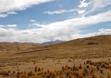 View along the Cusco-Puno Road, Peru Stock Photos