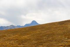 View along the Cusco-Puno Road, Peru Royalty Free Stock Photo