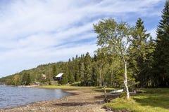 Lake Skjeppsjoen, Norway royalty free stock images