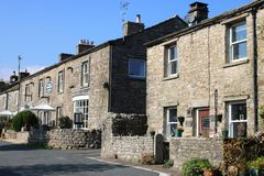 Kearton Country hotel Thwaite village, Swaledale stock photos