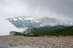 View at alpine mountain peaks - Raxalpe Stock Photography