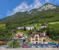 View in Alpnachstad Royalty Free Stock Photography