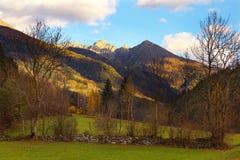 View of Alps, Austria Royalty Free Stock Photos