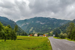 View of Alps, Austria Royalty Free Stock Images