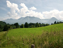 View on the alps Royalty Free Stock Photography