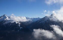 View of Alps at Mayrhofen ski resort. Tyrol, Austria Stock Photo