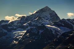 View of Alps mountain range at Zermatt. Switzerland Stock Images
