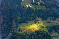 View from Alps. Switzerland, Europe Stock Photography