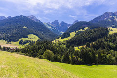View on the Alps, Switzerland Royalty Free Stock Photo