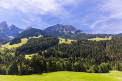 View on the Alps, Switzerland Stock Images