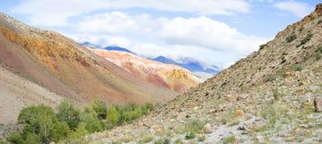 View on Altai mountain stream Kyzylchin , Siberia, Russia Stock Photo