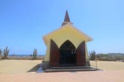 View of Alto Vista Chapel. Scenic View of Alto Vista Chapel in Noord Aruba Royalty Free Stock Photography