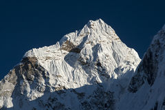 View of Ama Dablam from Dingboche Royalty Free Stock Images