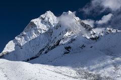 View of Ama Dablam from Dingboche Stock Photography