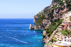 Amalfi Coast view Stock Photos