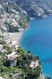 View of Amalfi coast, Italy Royalty Free Stock Image