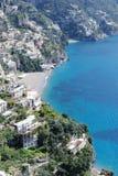 View of Amalfi coast, Italy royalty free stock image