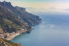 View of the Amalfi Coast, Italy, Europe Stock Photos