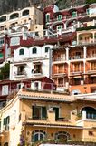 View of Amalfi Coast Italy. Village of Amalfi Coast Italy Royalty Free Stock Photo