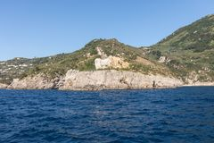 A view of the Amalfi Coast between Sorrento and Positano. Campania. A view of the Amalfi Coast between Sorrento and Posi. Campania. Italy Stock Image