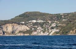 A view of the Amalfi Coast between Sorrento and Positano. Campania. Italy stock photography