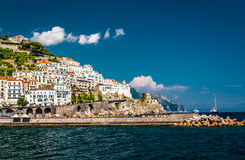View of Amalfi. Italy Royalty Free Stock Images