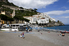 View of amalfi, italy Royalty Free Stock Images