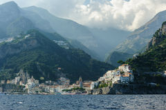 View of Amalfi Royalty Free Stock Photography