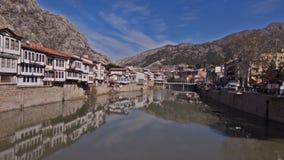 View Of Amasya, Turkey stock video footage