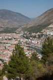 View of amasya, turkey Stock Image