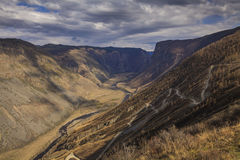 View of an amazing mountain landscape Stock Images