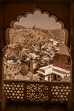 View from Amber fort Royalty Free Stock Photos