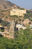 View from Amber Fort in Jaipur, India Royalty Free Stock Photos