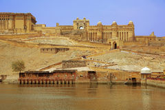 View of Amber Fort Royalty Free Stock Image